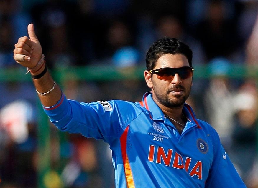 6 ಐಸಿಸಿ ಟೂರ್ನಿ ಫೈನಲ್ ಆಡಿದ ಆಟಗಾರ: ಯುವರಾಜ್ ಸಿಂಗ್ ತಮ್ಮ ವೃತ್ತಿಜೀವನದಲ್ಲಿ 6 ಐಸಿಸಿ ಫೈನಲ್ಸ್ ಆಡಿದ್ದಾರೆ. 2002 ಚಾಂಪಿಯನ್ಸ್ ಟ್ರೋಫಿ, 2003 ವಿಶ್ವಕಪ್, 2007ರ ಟಿ20 ವಿಶ್ವಕಪ್, 2011ರ ವಿಶ್ವಕಪ್, 2014ರ ಟಿ20 ವಿಶ್ವಕಪ್ ಮತ್ತು 2017 ಚಾಂಪಿಯನ್ಸ್ ಟ್ರೋಫಿಯಲ್ಲಿ ಆಡಿದ್ದಾರೆ. ಈ ಮೂಲಕ ಅತೀ ಹೆಚ್ಚು ಐಸಿಸಿ ಟೂರ್ನಿಯ ಫೈನಲ್ ಆಡಿದ ಆಟಗಾರ ಎನಿಸಿಕೊಂಡಿದ್ದಾರೆ.