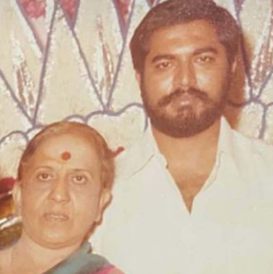 ಅಮ್ಮನೊಂದಿಗೆ ಶರತ್ ಕುಮಾರ್