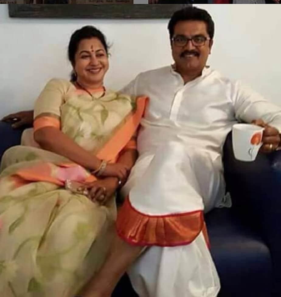 ರಾಧಿಕಾ ಹಾಗೂ ಶರತ್ ಕುಮಾರ್