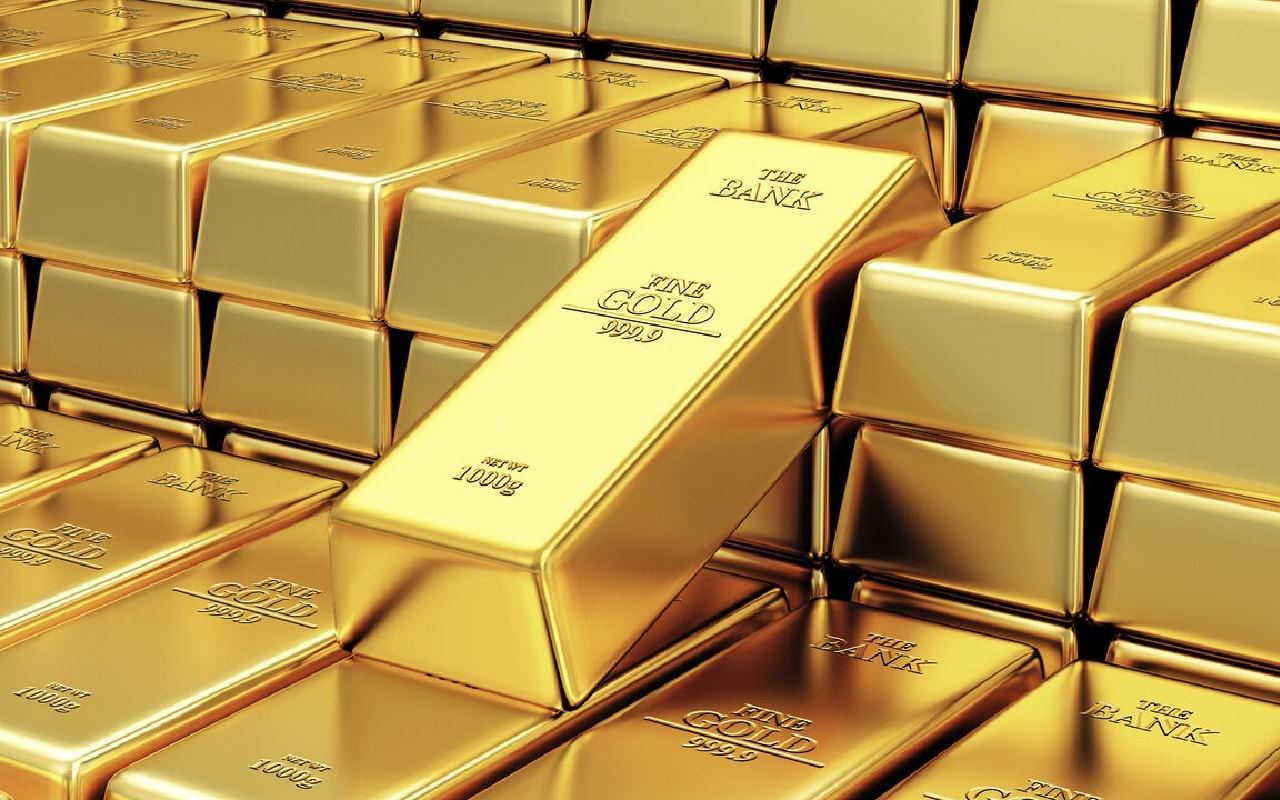 Gold Silver Rate: gold rate today Gold rate slumps down for the fourth time