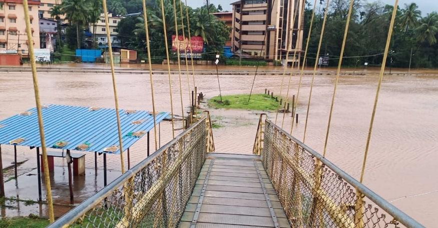 Heavy Rain in Chikmagalur and Shivamogga Mangalore Mudigere Road Closed.