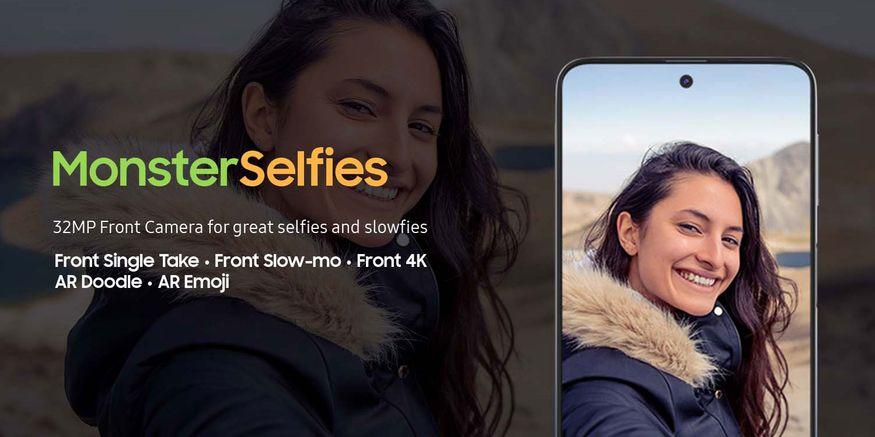 Samsung Galaxy M31s: ಸ್ಯಾಮ್ಸಂಗ್ ಗ್ಯಾಲಕ್ಸಿ ಎಂ 31 ಎಸ್ನಲ್ಲಿ 64 + 12 + 5 + 5 ಮೆಗಾಪಿಕ್ಸೆಲ್ಗಳ ರಿಯರ್ ಕ್ಯಾಮೆರಾಗಳನ್ನು ನೀಡಲಾಗಿದ್ದು ಮತ್ತು ಮುಂಭಾಗದ ಕ್ಯಾಮೆರಾ 32 ಮೆಗಾಪಿಕ್ಸೆಲ್ನ ಕ್ಯಾಮೆರಾವಿದೆ. ಈ ಸ್ಮಾರ್ಟ್ಫೋನ್ ಆಂಡ್ರಾಯ್ಡ್ 10+ ಸ್ಯಾಮ್ಸಂಗ್ ಒನ್ ಯುಐ ಆಪರೇಟಿಂಗ್ ಸಿಸ್ಟಮ್ನಲ್ಲಿ ಕಾರ್ಯನಿರ್ವಹಿಸುತ್ತದೆ.