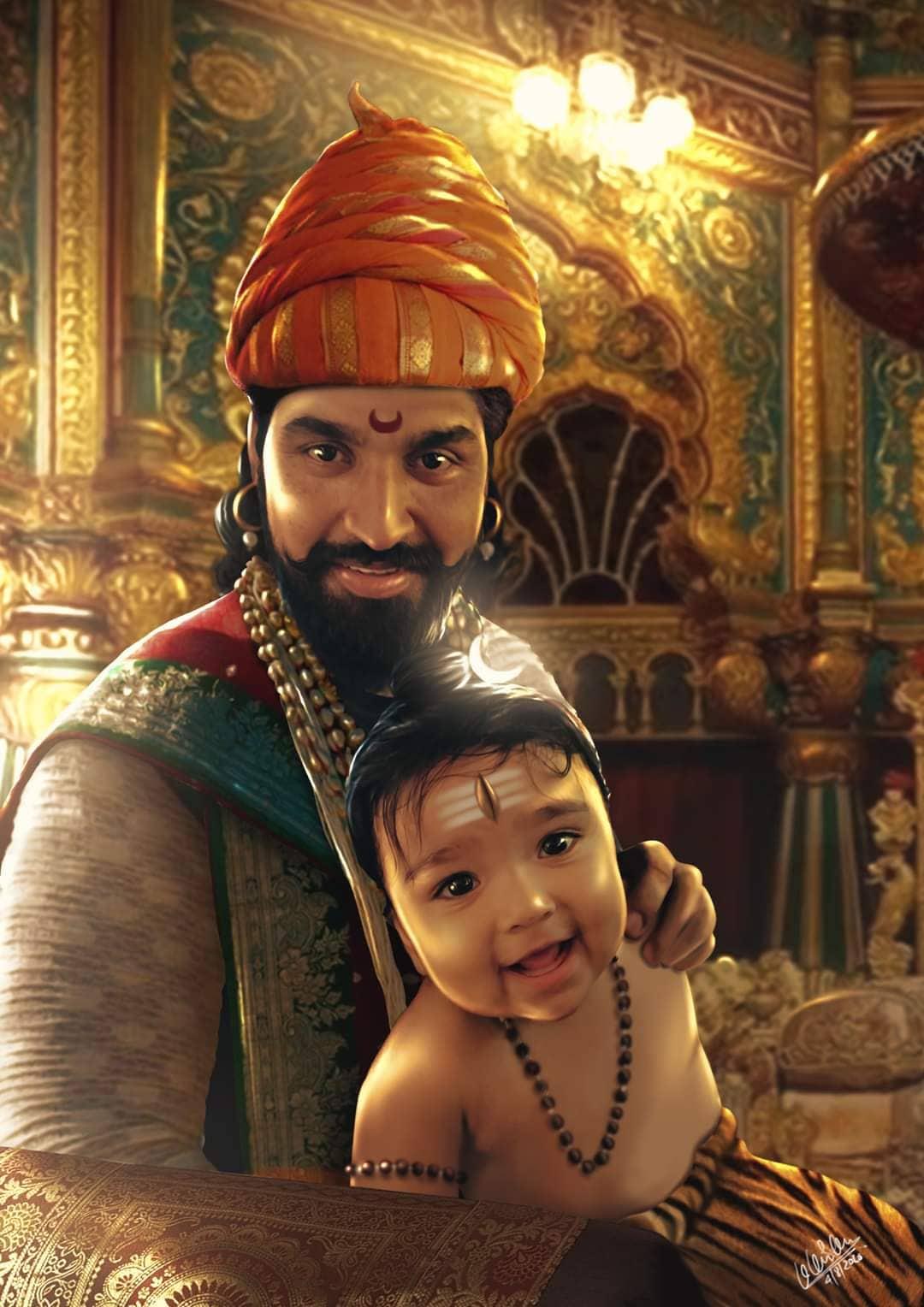 Angry Hanuman Fame artist Karan Acharya is working on Different Kind of photos