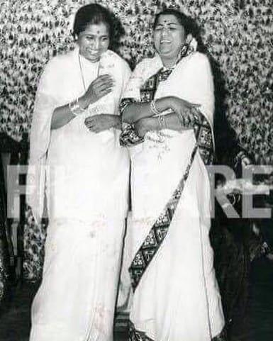 ಗಾಯಕಿ ಲತಾ ಮಂಗೇಶ್ಕರ್ ಅವರ ಅಪರೂಪದ ಫೋಟೋ