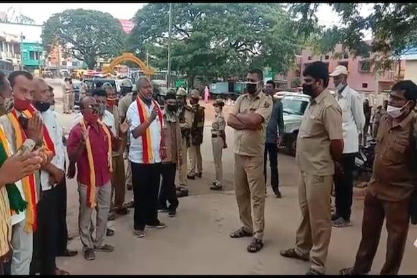 Karnataka Bandh: ಬೆಳ್ಳಂಬೆಳಗ್ಗೆ ಬೆಂಗಳೂರು ಏರ್ಪೋರ್ಟ್ಗೆ ಮುತ್ತಿಗೆ ಹಾಕಿದ ಕರವೇ ಕಾರ್ಯಕರ್ತರು