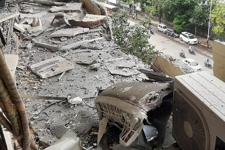 Mumbai: ಮುಂಬೈನ ಲ್ಯಾಬ್ನಲ್ಲಿ ಗ್ಯಾಸ್ ಟ್ಯಾಂಕ್ ಸ್ಫೋಟ; ಕಟ್ಟಡದ ಒಂದು ಭಾಗ ನೆಲಸಮ