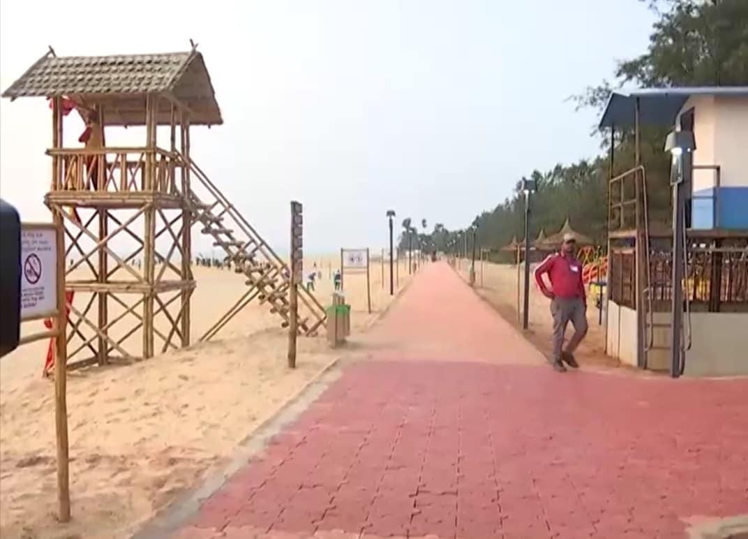 honnavar kasarkod beach got prestigious blueflag tag, honnavar, kasarkod beach, prestigious blueflag, blueflag tag, padubidribeach, UttaraKannada