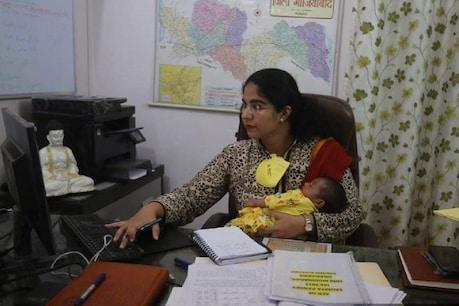 Viral Video: 14 ದಿನದ ಕಂದಮ್ಮನೊಂದಿಗೆ ಆಫೀಸಿಗೆ ಬಂದ ಐಎಎಸ್ ಅಧಿಕಾರಿ ಸೌಮ್ಯ ಪಾಂಡೆ; ವಿಡಿಯೋ ವೈರಲ್