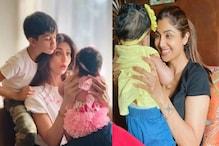 Shilpa Shetty Daughter: ಮಗುವಿನ ಪಾಲನೆಯಲ್ಲಿ ಏಂಟು ತಿಂಗಳು ಕಳೆದ ಶಿಲ್ಪಾ; ಹೇಗಿದ್ದಾಳೆ ಗೊತ್ತಾ ಕರಾವಳಿ ಸುಂದರಿ ಮಗಳು
