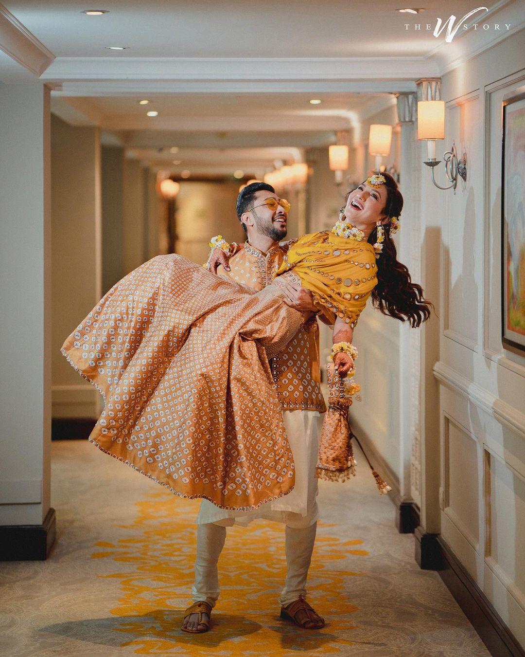 ಗೌಹರ್ ಖಾನ್ ಹಾಗೂ ಜೈದ್ ದರ್ಬಾರ್ ಅವರ ಮೆಹೆಂದಿ ಕಾರ್ಯಕ್ರಮದ ಚಿತ್ರಗಳು
