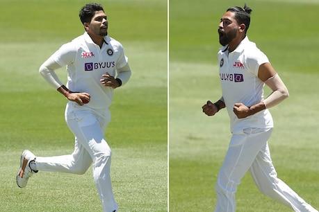 AUS A vs IND A Practice match: ಸಿರಾಜ್-ಉಮೇಶ್ ಬೌಲಿಂಗ್ ಬಿರುಗಾಳಿ, ಆಸ್ಟ್ರೇಲಿಯಾ 306-9: ಭಾರತ ಅಲ್ಪ ಮುನ್ನಡೆ