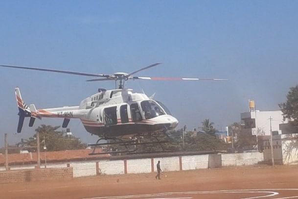 Banglore Heli Tourism: ಗೋವಾ, ಪಾಂಡಿಚೆರಿಗೆ ಇನ್ಮೇಲೆ ಎಲ್ಲರೂ ಹೆಲಿಕಾಪ್ಟರ್ನಲ್ಲಿ ಓಡಾಡಬಹುದು !