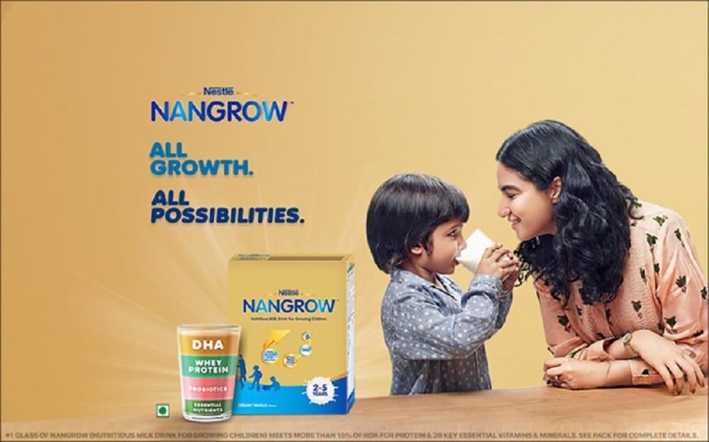 ಮಕ್ಕಳ ಬೆಳವಣಿಗೆಗೆ Nestle Nangrow