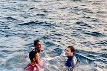 Rahul Gandhi:ಕೇರಳದ ಮೀನುಗಾರರ ಜೊತೆ ಸಮುದ್ರದಲ್ಲಿ ಈಜಿ, ಮೀನು ಹಿಡಿದ ರಾಹುಲ್ ಗಾಂಧಿ!