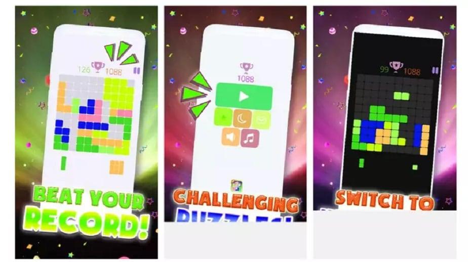 Block Puzzle 102 New Tentris Mania