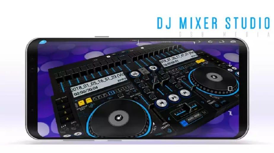 DJ Mixer Studio 2018