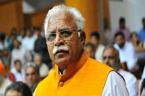 ಹರಿಯಾಣ ಸಿಎಂ ಮನೋಹರ್ ಲಾಲ್ ಕಟ್ಟರ್.