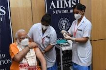 Narendra Modi Vaccination - ಎರಡನೇ ಡೋಸ್ ಲಸಿಕೆ ಹಾಕಿಸಿಕೊಂಡ ಪ್ರಧಾನಿ ಮೋದಿ