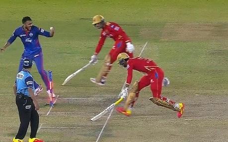 IPL 2021 Video: ಹೀಗೊಂದು ರನೌಟ್: ಕುತೂಹಲಕ್ಕೆ ಕಾರಣವಾಗಿದ್ದ ಅಂಪೈರ್ ತೀರ್ಪು..!