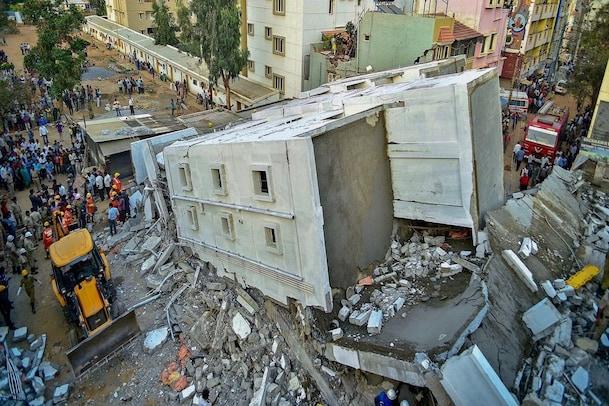 Bengaluru Building Collapse:  ನಗರದಲ್ಲಿ ಇನ್ನೊಂದು ಕಟ್ಟಡ ಕುಸಿತ- ಅಪಾಯದ ಅಂಚಿನಲ್ಲಿದೆ 194 ಕಟ್ಟಡ
