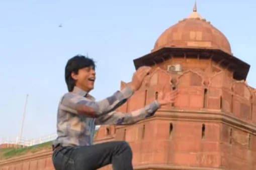 ಫ್ಯಾನ್ ಸಿನಿಮಾದ ಚಿತ್ರದಲ್ಲಿ ಶಾರುಖ್ ಖಾನ್ (Photo Credits: YRF/YouTube)