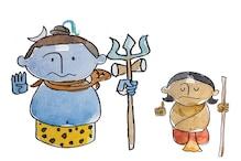 Lord Ganesha Story in Pics- ಕಾರ್ಟೂನ್ ಚಿತ್ರಗಳಲ್ಲಿ ಗಣಪತಿ ಸಿಂಪಲ್ ಸ್ಟೋರಿ