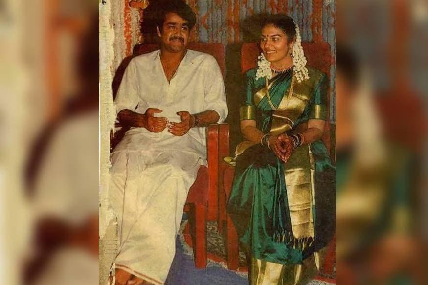 മോഹൻലാൽ-സുചിത്ര; ഒരു വിവാഹ ചിത്രം
