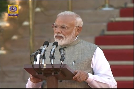 Modi Swear In