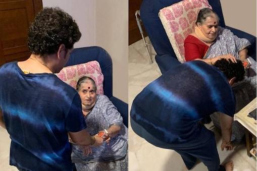 ജന്മദിനത്തിൽ സച്ചിൻ സോഷ്യൽ മീഡിയയിൽ പങ്കുവെച്ച ചിത്രം