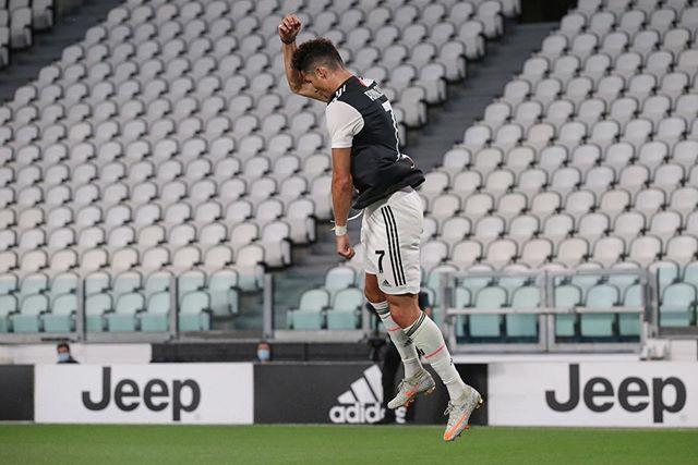 പ്രീമിയര് ലീഗ്, ലാലീഗ, സിരീ ഏ ലീഗില് 50ല് കൂടുതല് ഗോളുകള് നേടുന്ന ആദ്യ താരവും ക്രിസ്റ്റ്യാനോ റൊണാള്ഡോയാണ്. (Image:Cristiano Ronaldo/Instagram)