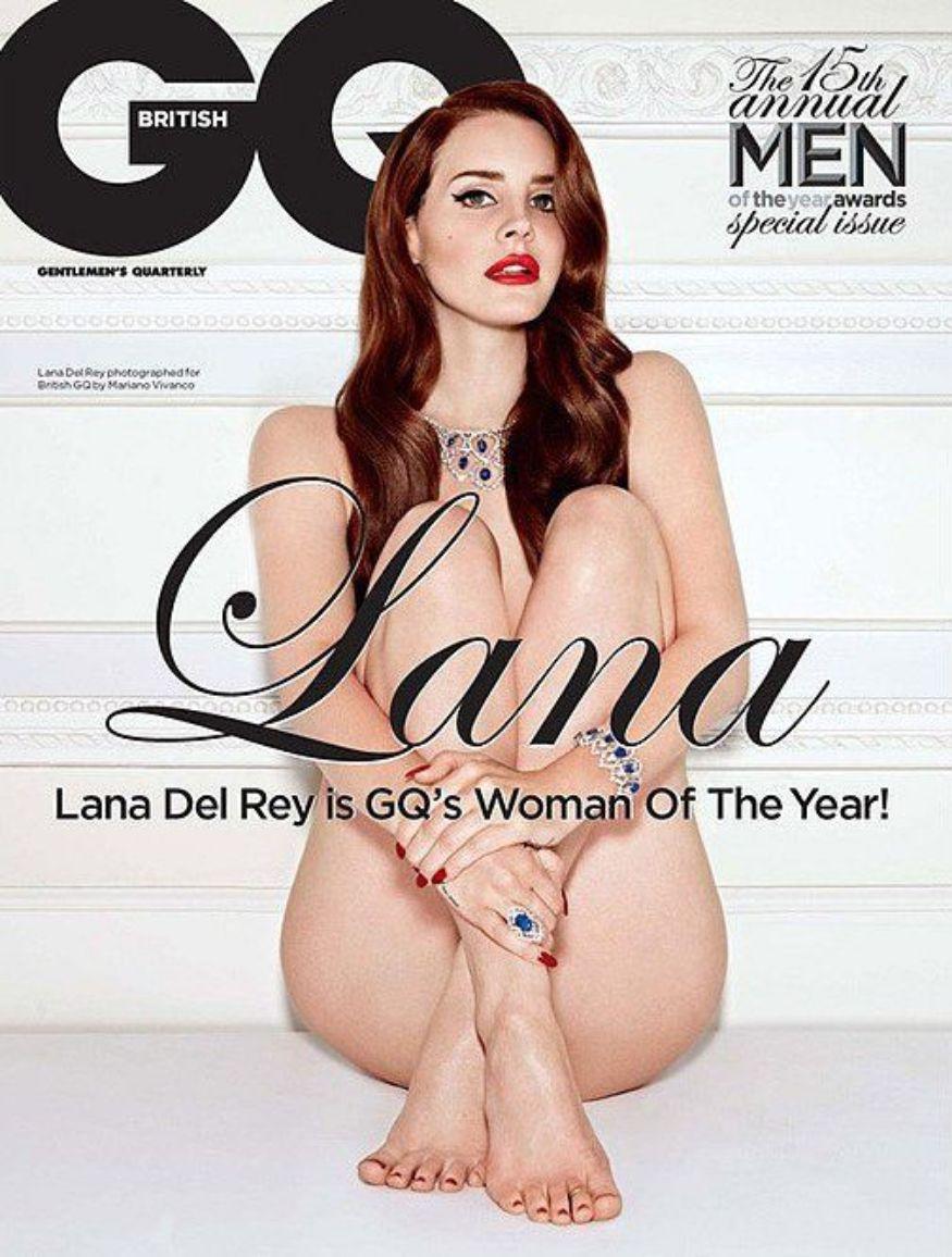 ലാന ഡേൽ റേ - GQ magazine. (Image: GQ)