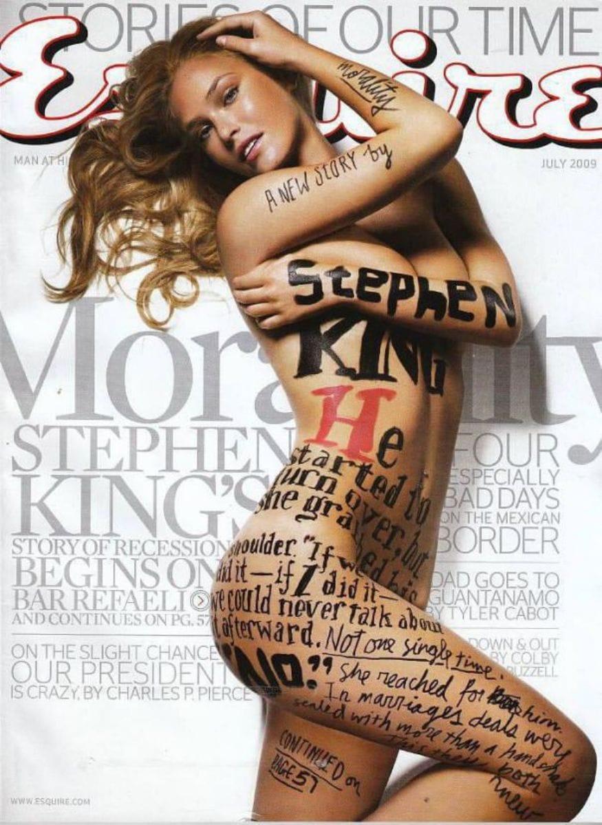 ഇസ്രായേലി സൂപ്പർ മോഡൽ ബർ റെഫാലി- Esquire magazine. (Image: Esquire)