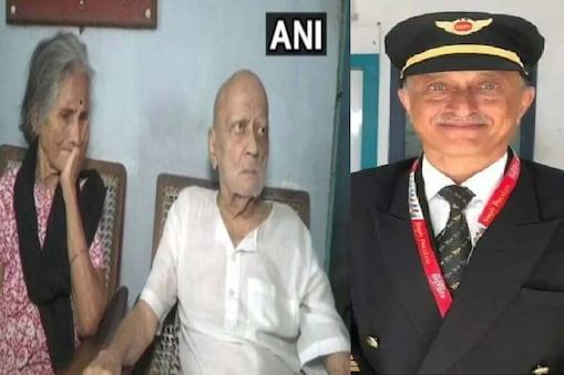 Parents of Captain Deepak Sathe