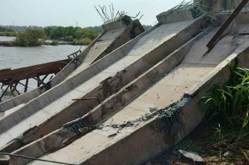 Thalassery Mahe bypass collapse