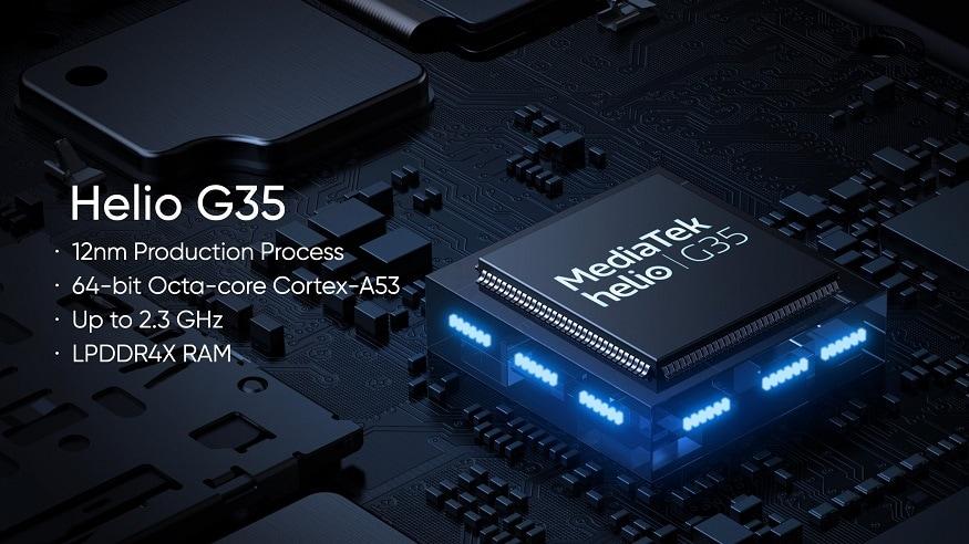 2. 4 GB RAM + 64 GB സ്റ്റോറേജുള്ള ഫോണിന് 10,999 രൂപയാണ് വില. നീല, സിൽവർ കളറുകളിൽ ഫോൺ ലഭ്യമാണ്. (image: Realme India)