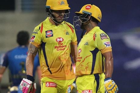 IPL 2020| MI vs CSK|റായിഡു- ഡൂപ്ലസി സെഞ്ചുറി കൂട്ടു കെട്ട്; ഉദ്ഘാടനമത്സരത്തിൽ വിജയികളായി ചെന്നൈ സൂപ്പർ കിംഗ്സ്