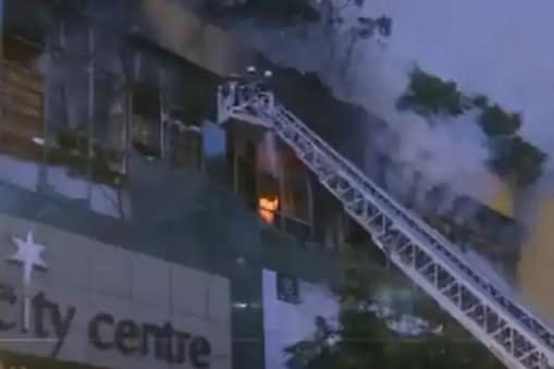 Fire Breaks Out at Mumbai Mall