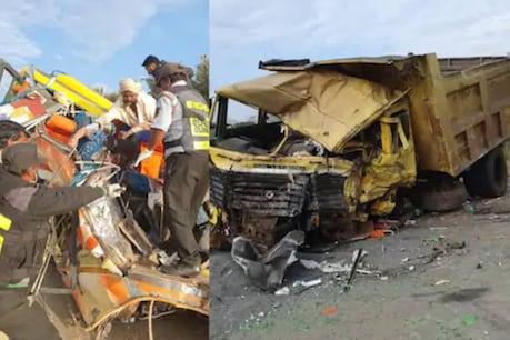 Dharwad Accident | കര്ണാടകയിൽ മിനി ബസും ടിപ്പറും കൂട്ടിയിടിച്ച് ഒമ്പത് സ്ത്രീകൾ ഉള്പ്പെടെ 11 പേർ മരിച്ചു
