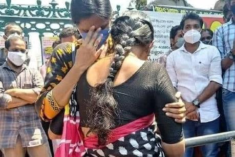'കൂലിപ്പണിക്കു പോയാലും ഇനി പിഎസ്സി എഴുതില്ല': സമരമുഖത്തെ കണ്ണീർ ചിത്രമായി സൈബർ അധിക്ഷേപത്തിനിരയായ ലയ