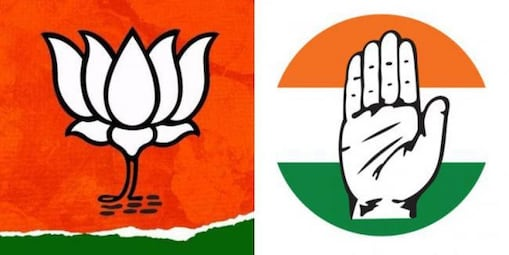 BJP CONGRESS