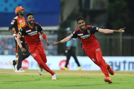 IPL2021   വിജയം പൊരുതി നേടി കോഹ്ലിപ്പട; സൺറൈസേഴ്സിനെതിരെ ആറ് റൺസ് വിജയം