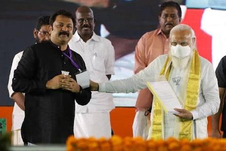 'ഹാർബർ നടന്നു കാണണം, ഉദ്ഘാടനത്തിന് നരേന്ദ്ര മോദി ഉണ്ടാവണം.. സ്റ്റേജിൽ എനിക്കും ഇടമുണ്ടാവണം': കൃഷ്ണകുമാർ