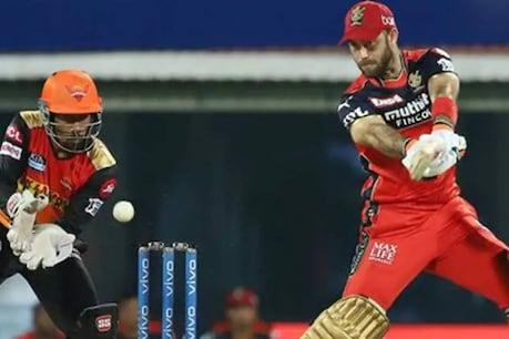 IPL 2021 | അര്ധ സെഞ്ചുറി നേടി മാക്സ്വെല്; സണ്റൈസേഴ്സ് ഹൈദരാബാദിന് 150 റണ്സ് വിജയലക്ഷ്യം