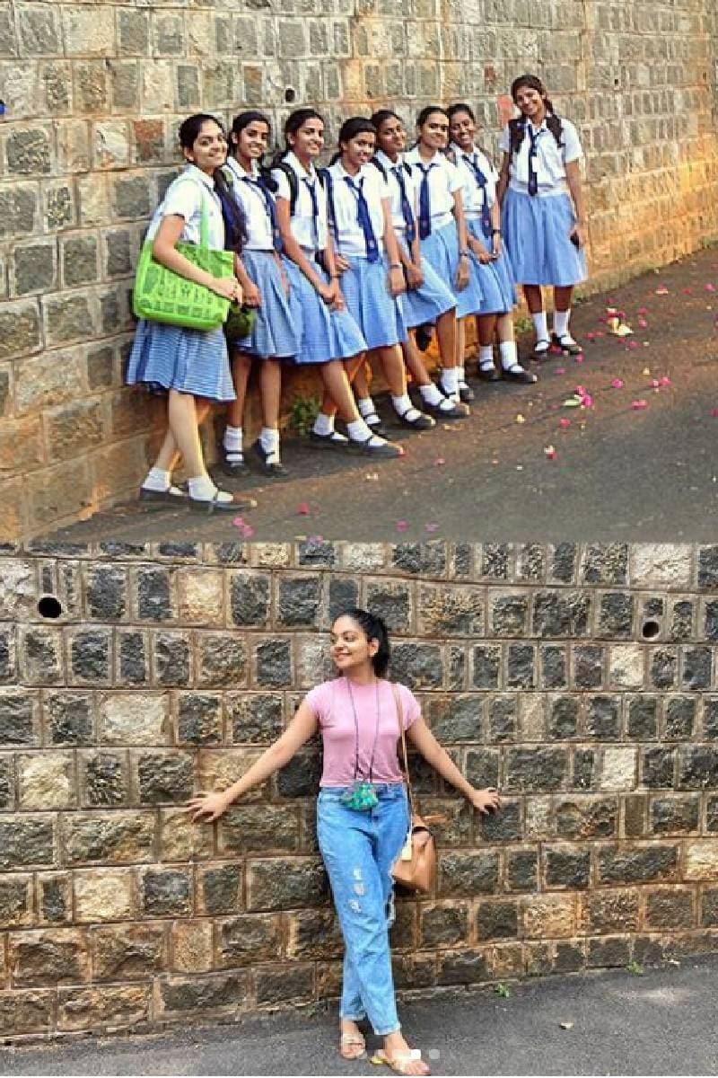 അടുത്തിടെ അഹാന തന്റെ പഴയ സ്കൂൾ സന്ദർശിച്ചിരുന്നു. ഹൻസികയുടെ പ്ലസ് വൺ അഡ്മിഷൻ സംബന്ധിയായാണ് സ്കൂൾ സന്ദർശനം നടത്തിയത്. ഇതുമായി ബന്ധപ്പെട്ട് അഹാന ഒരു വ്ളോഗ് ചെയ്തിരുന്നു