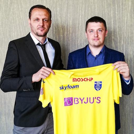 Karolis Skinkis and Ivan Vukomanovic