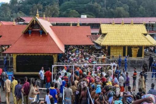 File photo of Sabarimala temple.