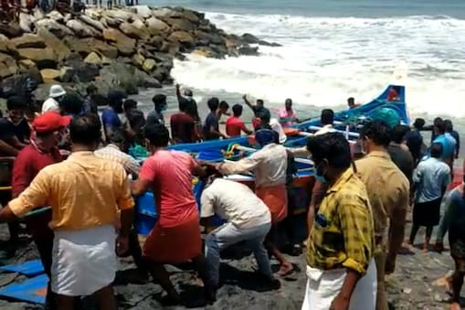 Fishing-boat accident