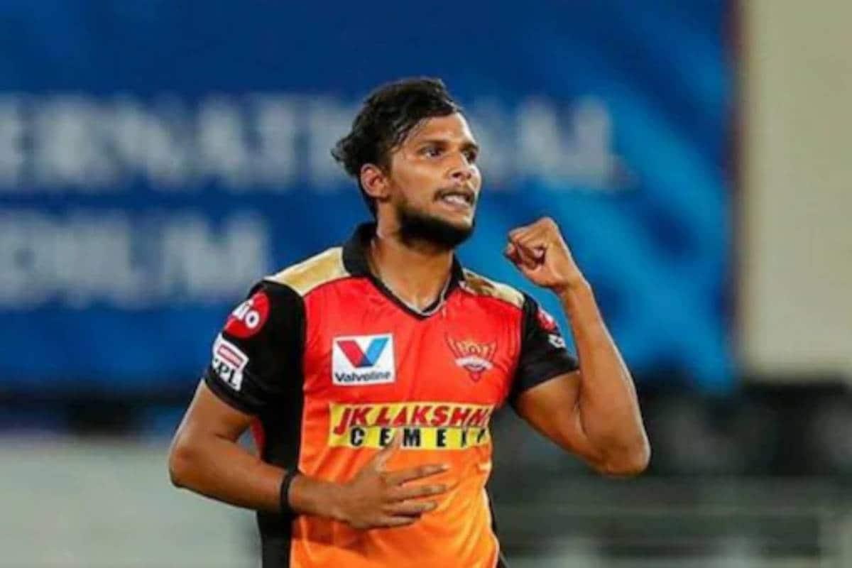 IPL 2021 | ഹൈദരാബാദ് താരം ടി നടരാജന് കോവിഡ്; ആറുപേർ ക്വറന്റീനിൽ