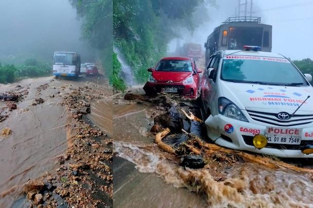 Kerala Rains| പെരുമഴക്കെടുതിയിൽ നടുങ്ങി കോട്ടയം ഇടുക്കി മലയോരമേഖല