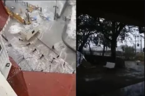 Tauktae Cyclone: ତାଉତେ ତୁଫାନ ଗୁଜୁରାଟ ଓ ମହାରାଷ୍ଟ୍ରରେ ତାଣ୍ଡବ ରଚିଲା; ଭୟଙ୍କର ଭିଡ଼ିଓ ଭାଇରାଲ